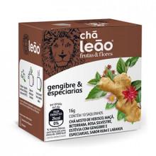 Chá Gengibre e especiarias Leão com 10 Saches