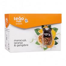 Chá Senses Maracujá, Laranja e Gengibre Leão