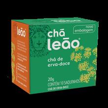 Chá de Erva Doce Leão com 10 Saches