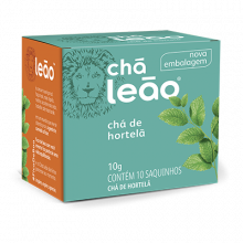 Chá de Hortelã Leão com 10 Saches