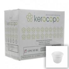 Copo Descartável 50ml Kerocopo - Caixa com 5000 Unidades