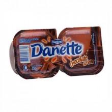 Sobremesa Sabor Chocolate ao Leite Danette - Cartela com 2 Unidades