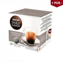 Cápsulas Dolce Gusto Espresso Barista - Caixa com 16 Unidades