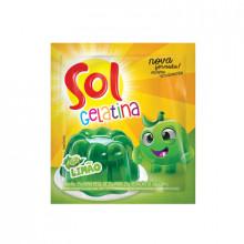 Gelatina Sol Sabor Limão 35g