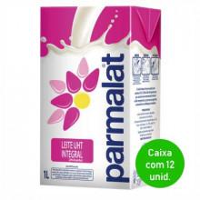 Leite UHT Integral Parmalat 1 Litro - Caixa com 12 Unidades