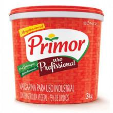 Margarina Primor com Sal - Balde com 3kg
