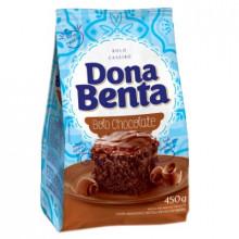 Mistura para Bolo de Chocolate Dona Benta - Pacote com 450g