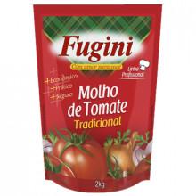 Molho de Tomate Tradicional Fugini - Pacote com 2kg