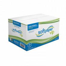 Papel Higiênico Interfolhado Softpaper Vip com 12000 folhas