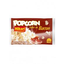 Pipoca Micro-ondas Bacon Hikari 100g