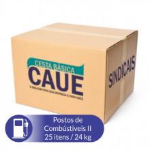 Cesta Básica Posto de Gasolina II - 25 Itens / 24Kg
