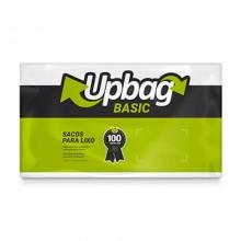 Saco para Lixo Up Bag Basic Branco 50L pacote com 50 Unidades