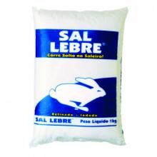 Sal Refinado Lebre - 1kg