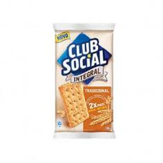 Biscoito Integral Club Social - 144g