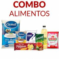 Combo Alimentos - 8 Itens