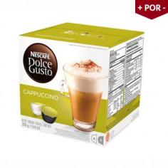 Cápsula Dolce Gusto Cappuccino - Caixa com 16 Unidades