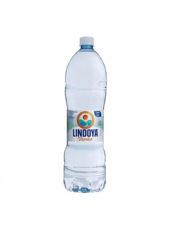 Agua Mineral com Gás 1500ml Lindoya verão