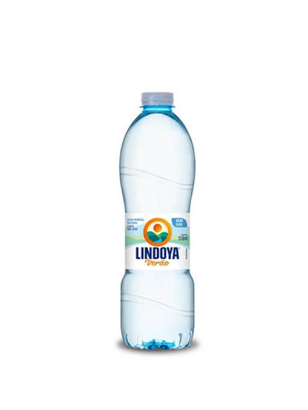 Agua Mineral com Gás 510ml Lindoya verão