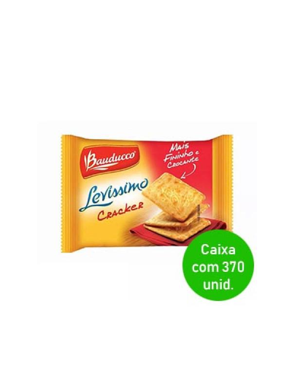 Biscoito Cream Cracker Levíssimo Bauducco Sachê 8,5g - Caixa com 370
