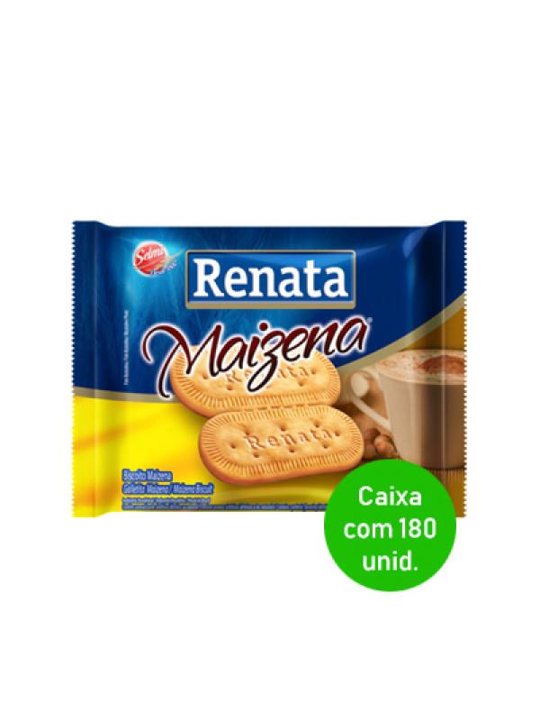 Biscoito Maizena Renata Sachê 6g - Caixa com 180