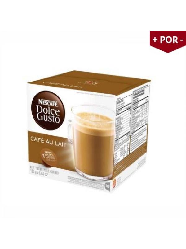 Cápsulas Dolce Gusto Café Au Lait - Caixa com 16 unidades