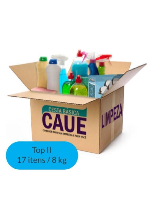 Cesta Limpeza Top II - 17 Itens / 8Kg
