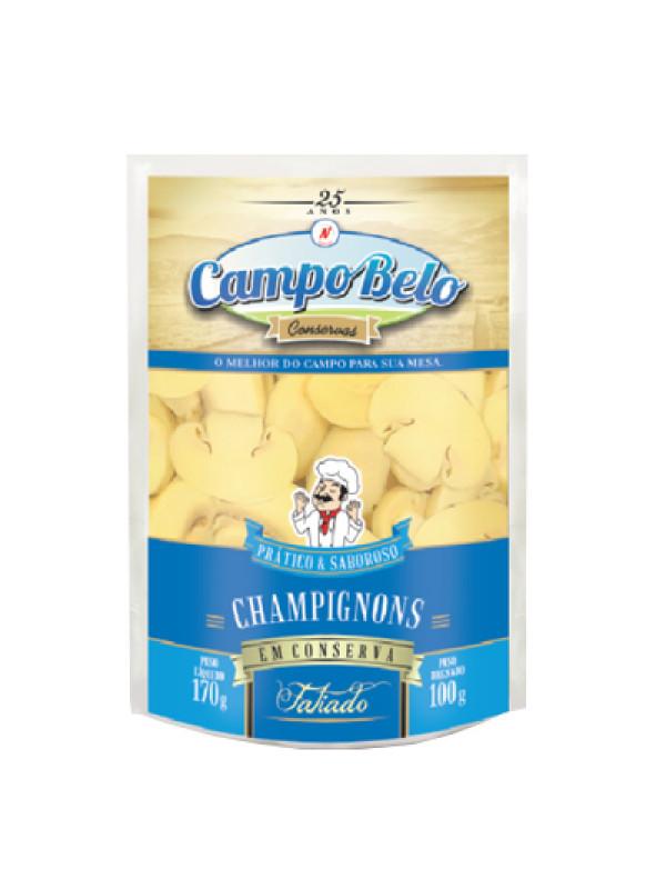 Champignon Fatiado Campo Belo Pouch 100g