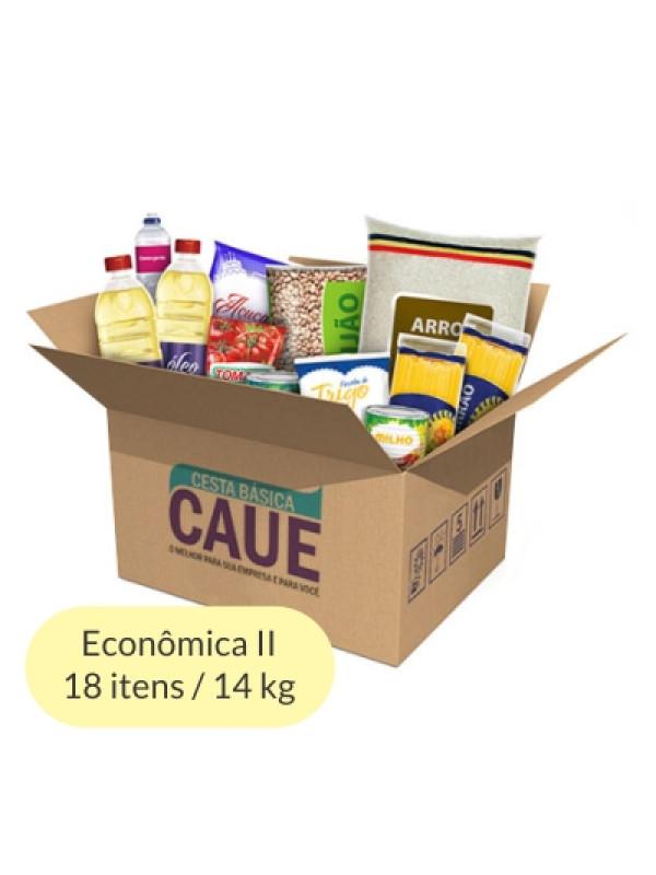 Cesta Básica Econômica II - 18 Itens / 14Kg