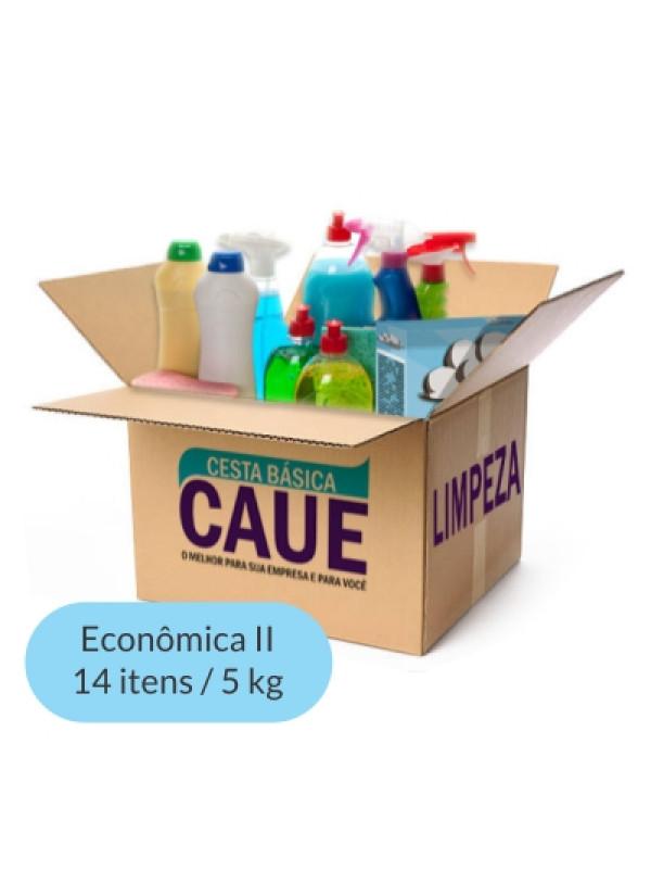 Cesta de Limpeza Econômica II - 14 Itens / 5Kg