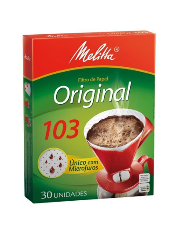 Filtro de Papel Melitta 103 - Caixa com 30 Unidades