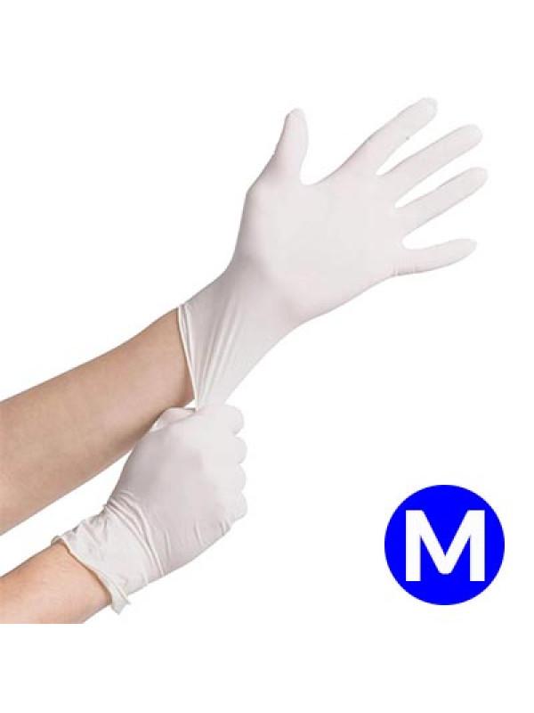 Luva de Vinil para procedimentos Tamanho M