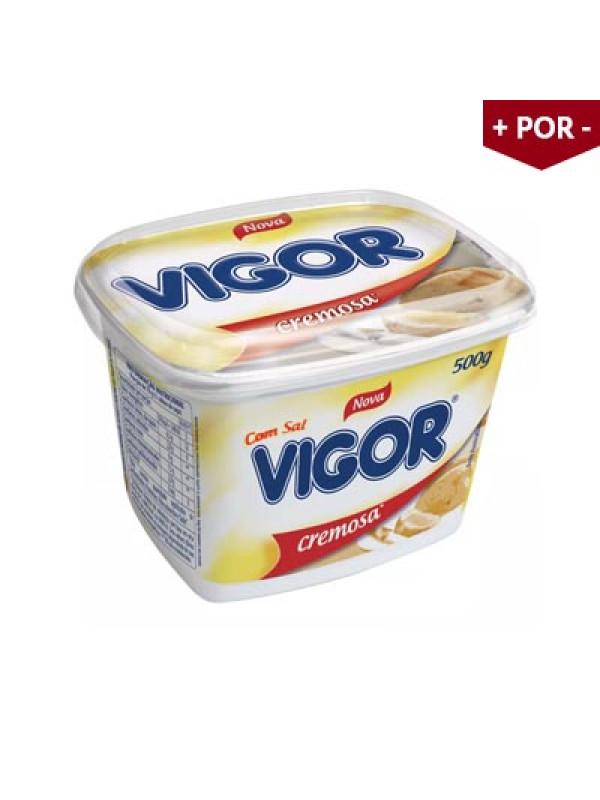 Margarina Vigor com Sal - Pote com 500g