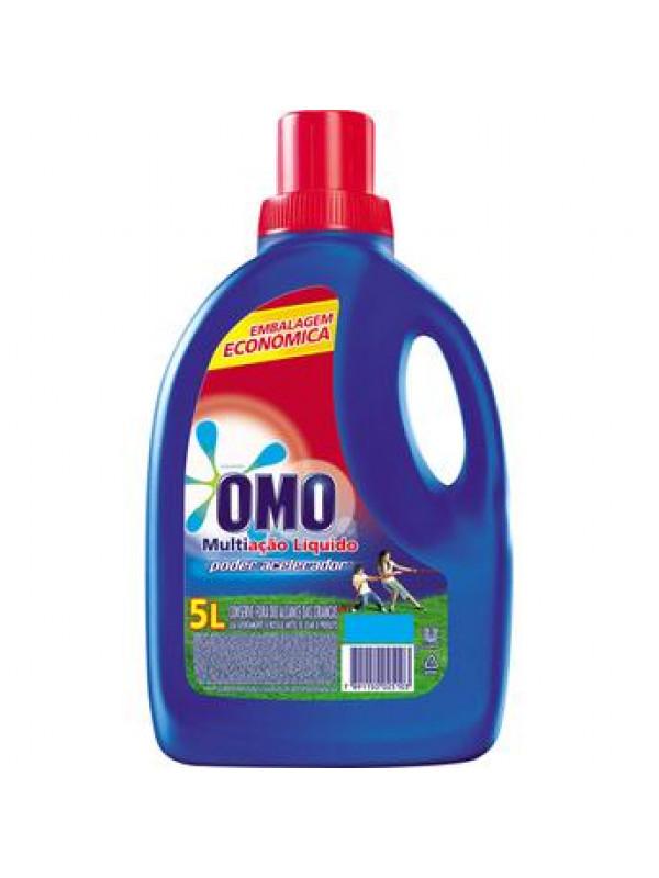 Sabão líquido Omo 5 litros